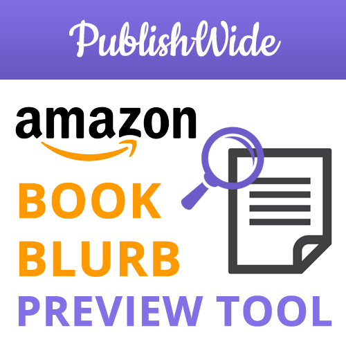 Amazon Book Blurb Preview Tool